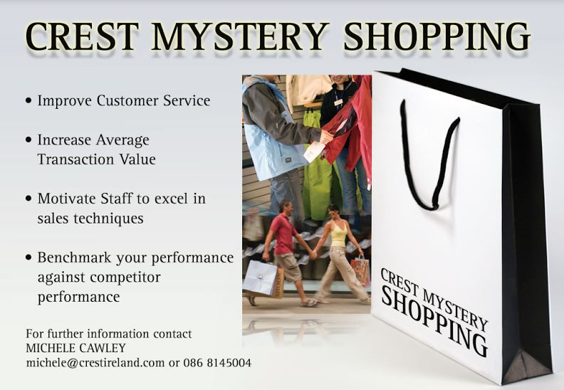 Crest Mystery Shopping